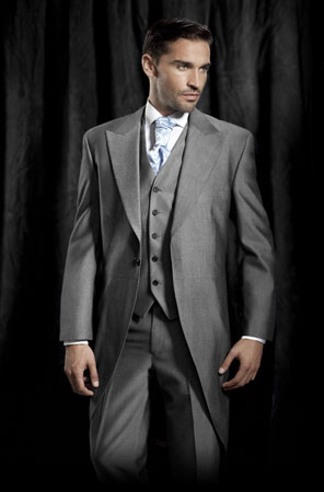 Classic cutaway morning suit